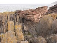 Hutton's unconformity, in Scotland