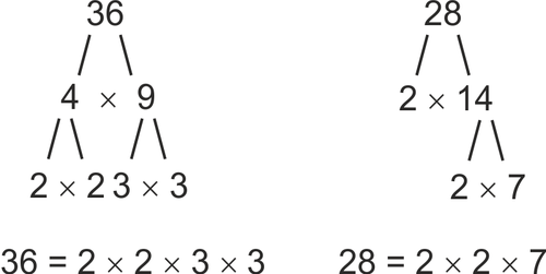 Greatest common factor example 3 three numbers youtube.