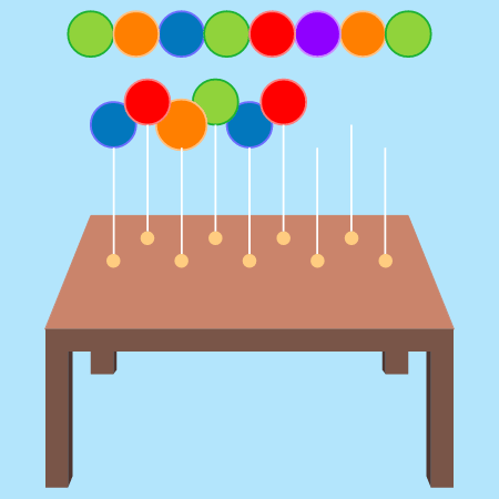 Visual Patterns: Balloons