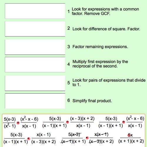 Division of Rational Expressions: Step by Step