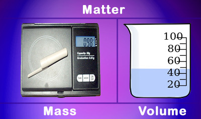 Matter, Mass, and Volume Practice