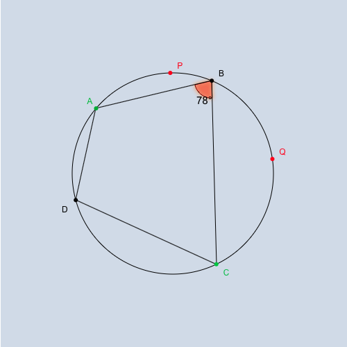 Inscribed Quadrilateral in Circles