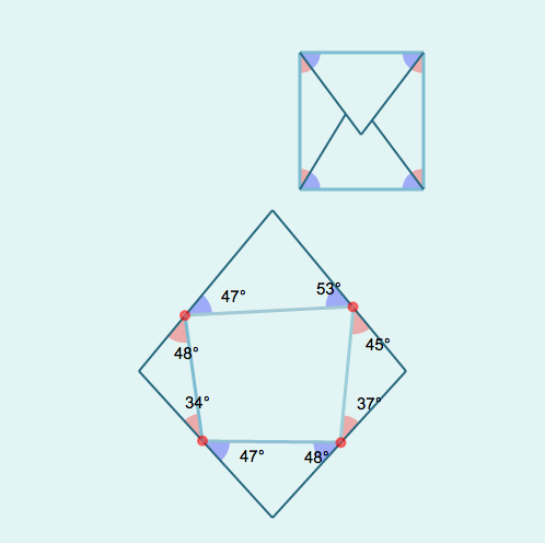 Complementary Angles: Envelope Origami
