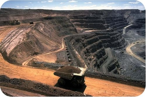 Strip coal mining destroys entire ecosystems
