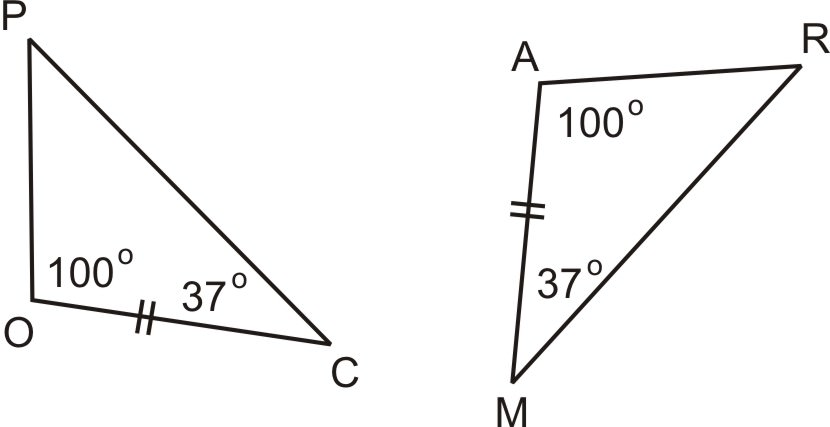 how to use asa to solve a triangle