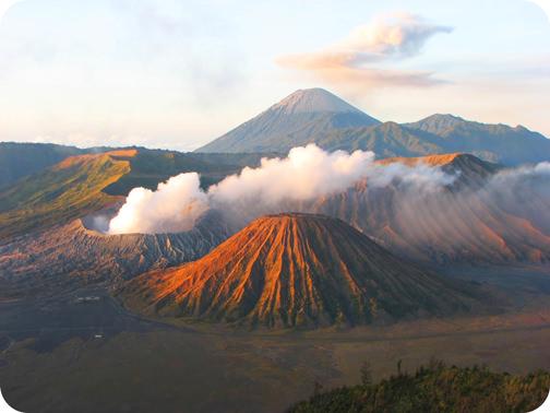 Teaching Volcanic landforms