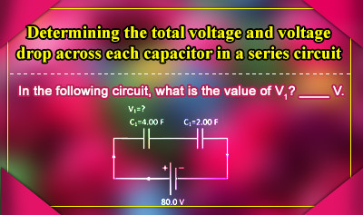 RC Circuits 1: Capacitors in Series - Example 3