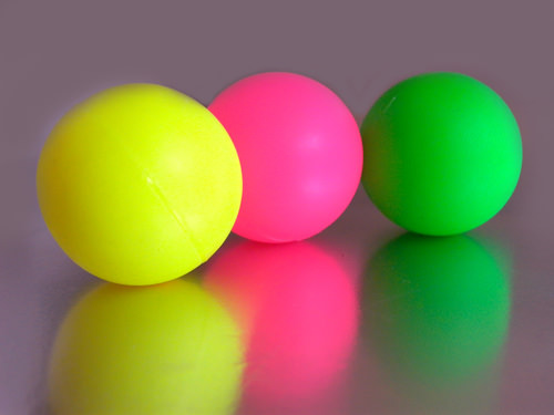 Multi-colored balls