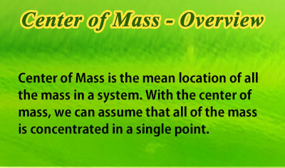 Center of Mass - Overview