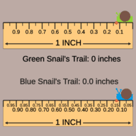 Snail Stroll: Decimal Rounding Given Place Value