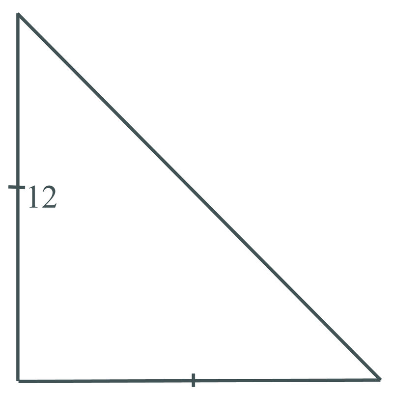 Lengths of Sides in Isosceles Right Triangles | CK-12 ...