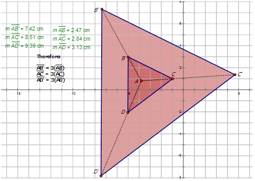 dilations of geometric shapes  ck12 foundation